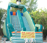 Inflatable Air Jumping
