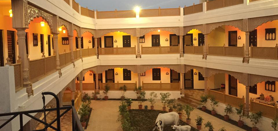 Haveli Rooms at Chouki Dhani Resort Rajkot